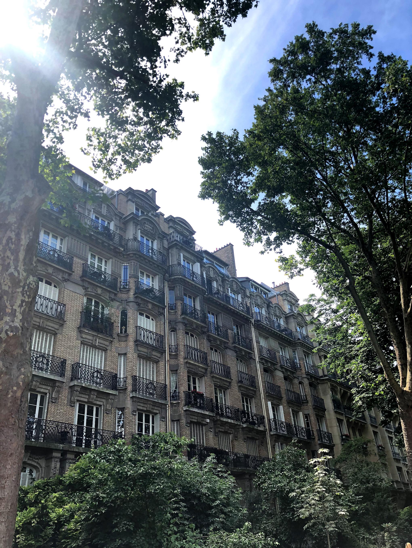 Die Straßen von Paris